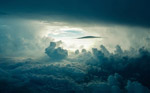 云层之上图片