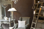 复古客厅图片