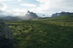自然丘陵景观图片