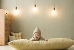 微笑的婴儿图片