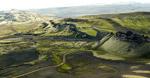 冰岛火山景观