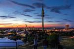 奥林匹克公园夜色