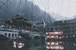 河边传统建筑