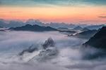 山景云雾图片