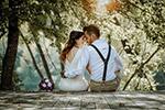 幸福新婚夫妇