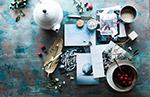 圣诞桌面静物