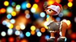 圣诞节驯鹿装饰