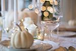 感恩节的餐桌