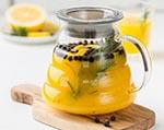 黄色美味果汁