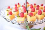 方形浆果芝士蛋糕