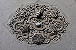 砖雕龙戏珠图片