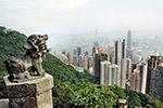 远眺香港城市风景