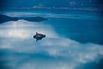 宁静的泸沽湖图片