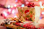 圣诞多彩礼品盒