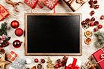 圣诞黑板框