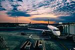 飞机场停机坪