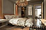 典雅风卧室