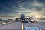 停机坪飞机