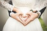 婚礼心手势