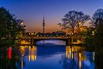 欧洲城市夜色