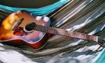 吊床上的吉他