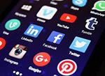 手机社交媒体图标