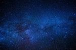 蓝色的星系