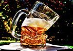 变形啤酒杯