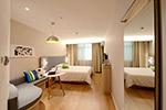 现代舒适卧室