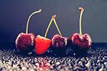 樱桃和覆盆子