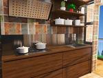 小户型厨房模型
