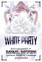 高贵白色派对海报