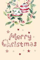 简约圣诞节海报