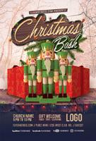 圣诞节Bash海报