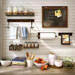 厨房架子组合模型