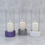 白色蜡烛3D模型