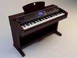 高端电子琴模型