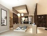 客厅3d模型
