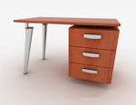 办公桌3d模型