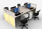 办公桌椅模型
