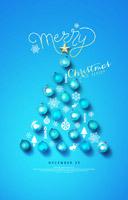 圣诞节日海报