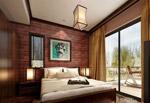 家居卧室模型
