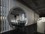 餐厅垭口模型