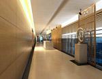 电梯走廊模型
