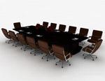 大型���h桌模型