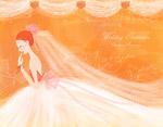新娘人物插画