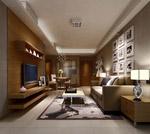 家居客厅3d模型