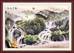 江山多娇国画