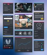 太空主题UI界面