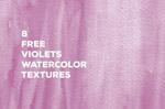 紫罗兰水彩纹理